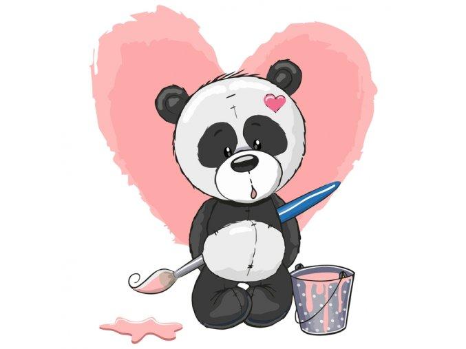 Panda malíř