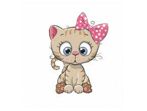 Kočička s mašlí