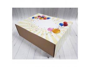 Krabička balónky