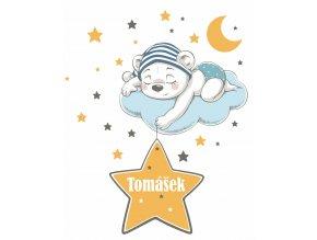 jmenovka medvidek s hvezdou1
