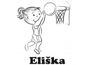 Basketbal holčička