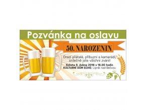 Pozvánka pivní