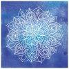 Mandala modrá - více rozměrů