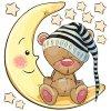Méďa na měsíčku