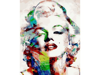 CHENISTORY DZ111202 paint by numbers diy Marylin