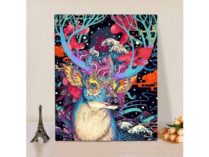 CHENISTORY DZ1007 Paint By Numbers Lovely Deer