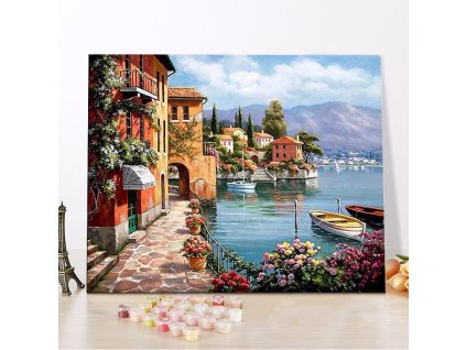 CHENISTORY DZ1018 Painting By Numbers Diy Charming