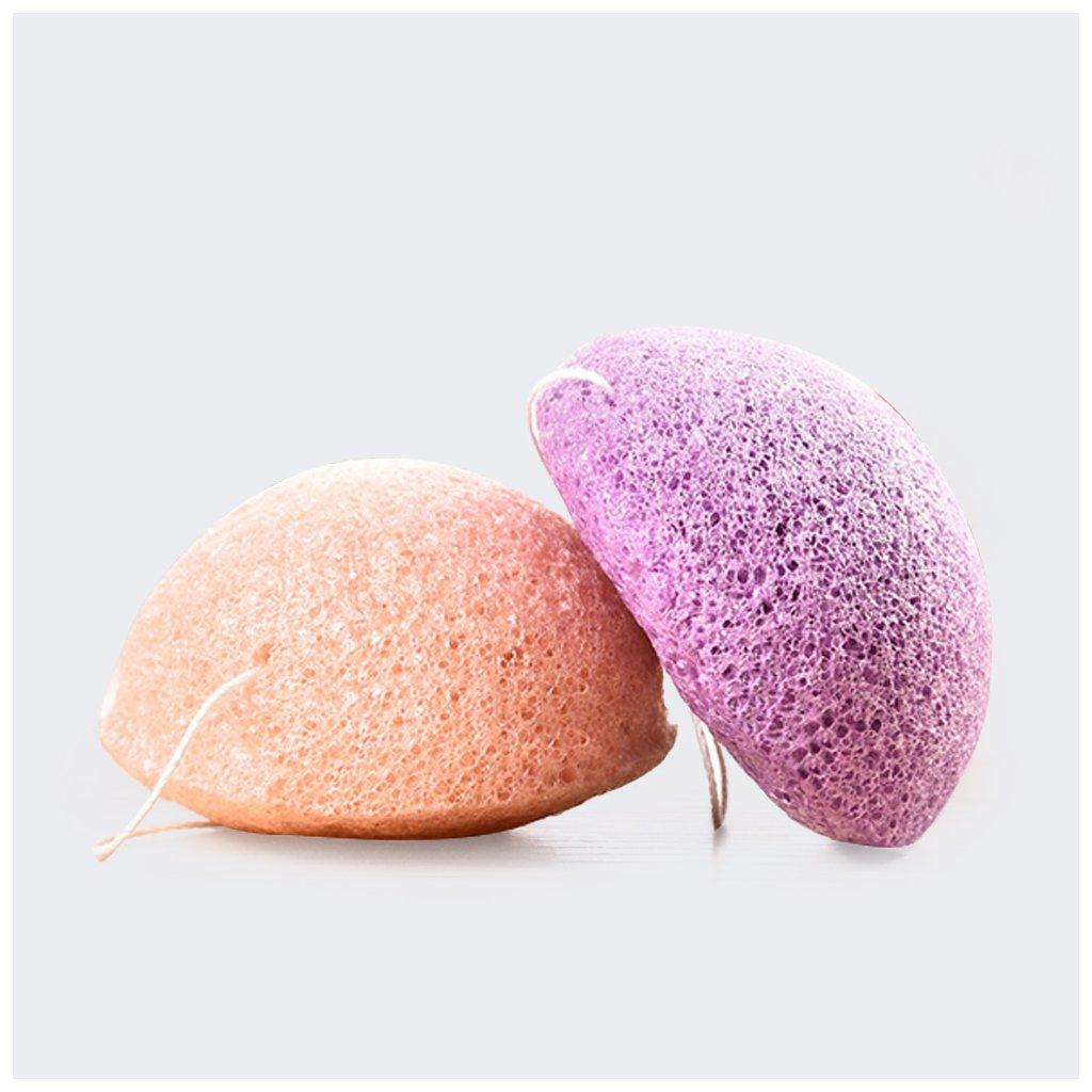 konjaková houbička na čištění pleti