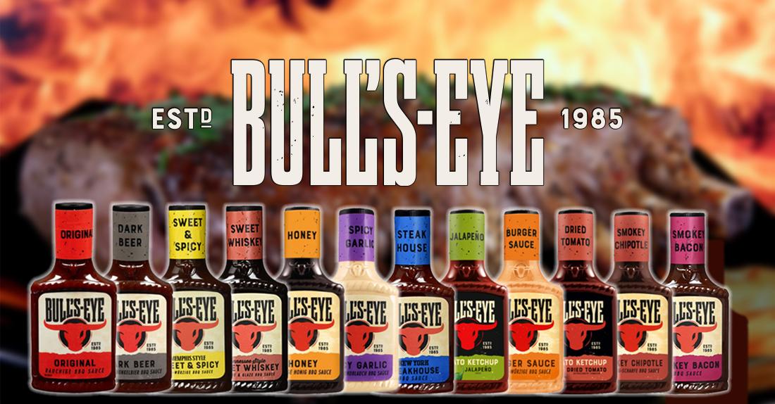 Omáčky Bull's-Eye