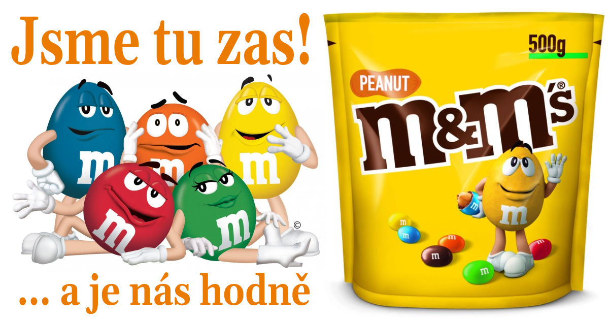 M&M arašídové 500g