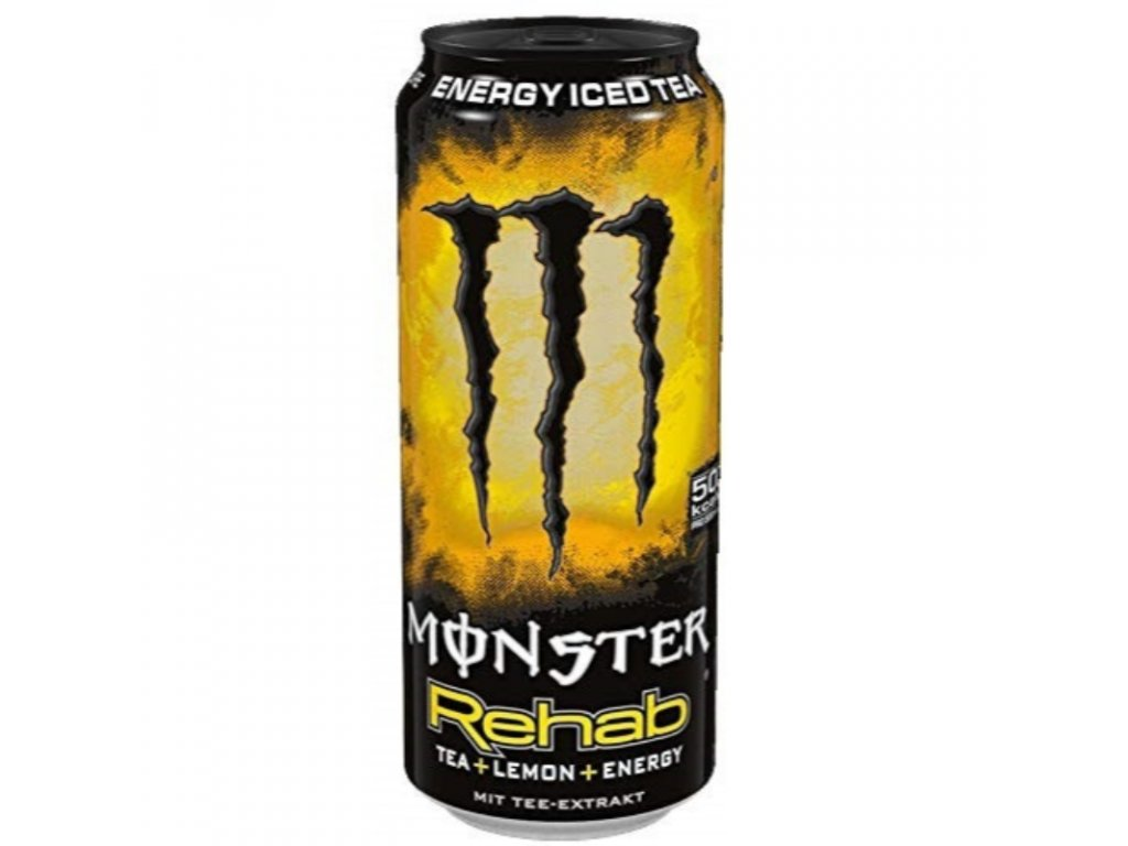 Monster Rehab Lemonade Energy Tea Original 458ml