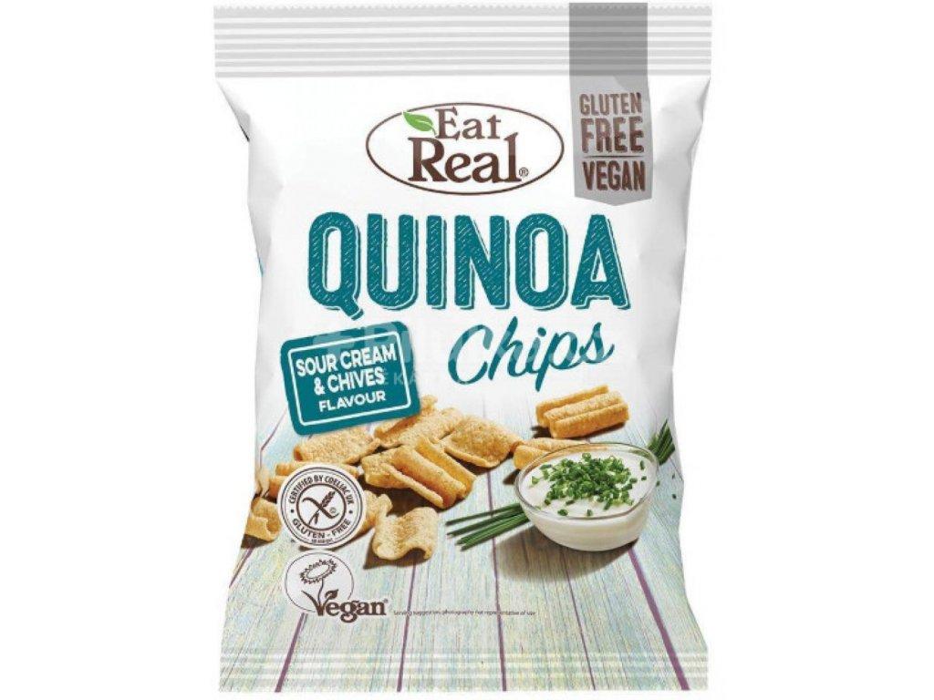 Eat Real Quinoa Chips zakysaná smetana pažitka 30g