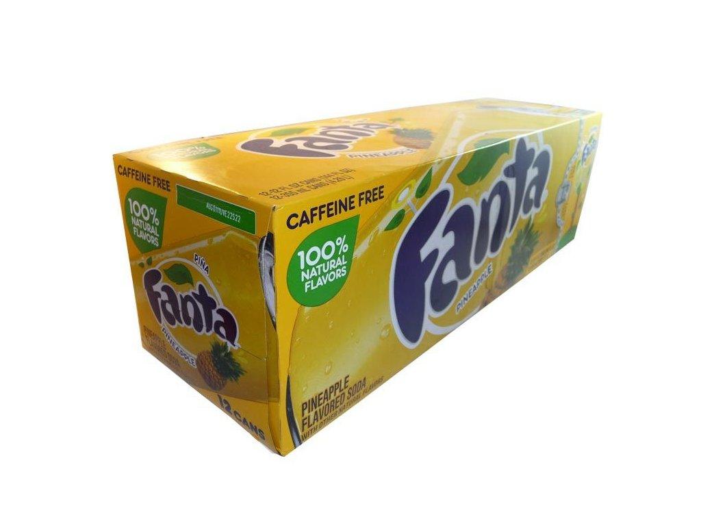 Fanta Pineapple (ananas) USA karton 12x 355ml