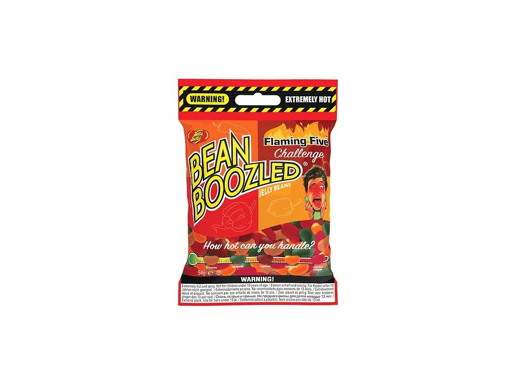 Jelly Belly Beanboozled Flaming Five 54g 02