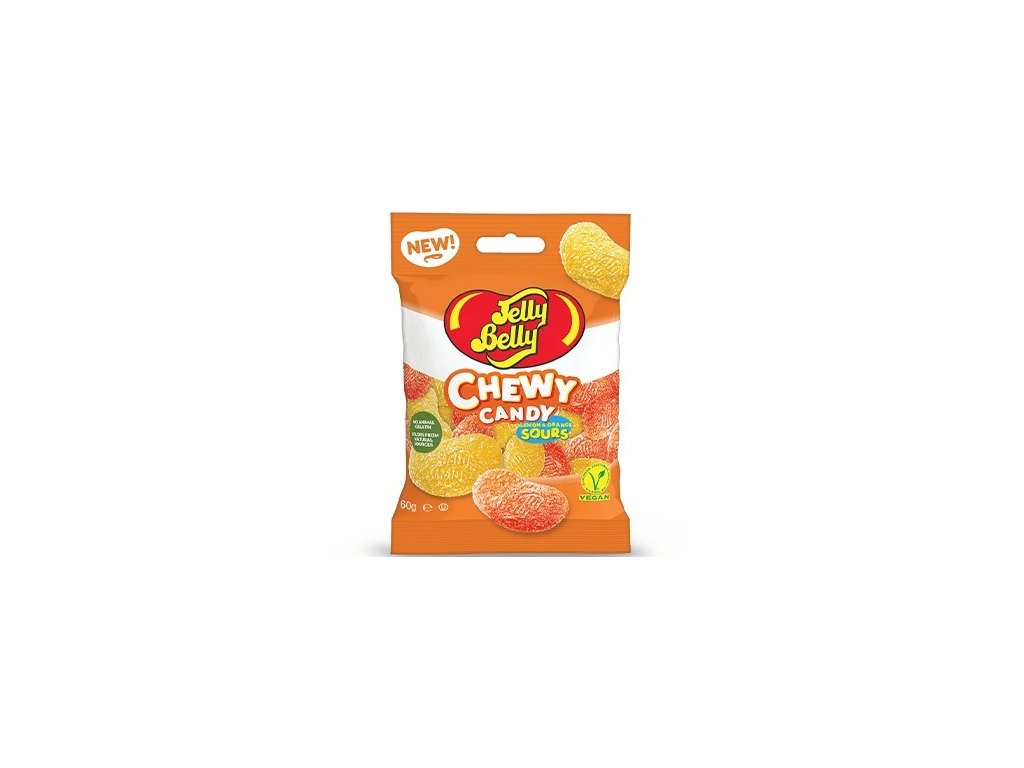 Jelly Belly Chewy Candy Lemon & Orange Sours 60g