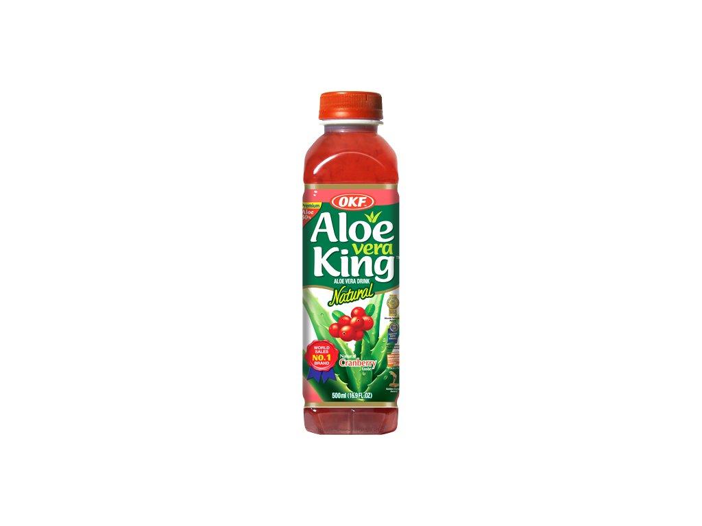 OKF Aloe Vera Cranberry 500ml