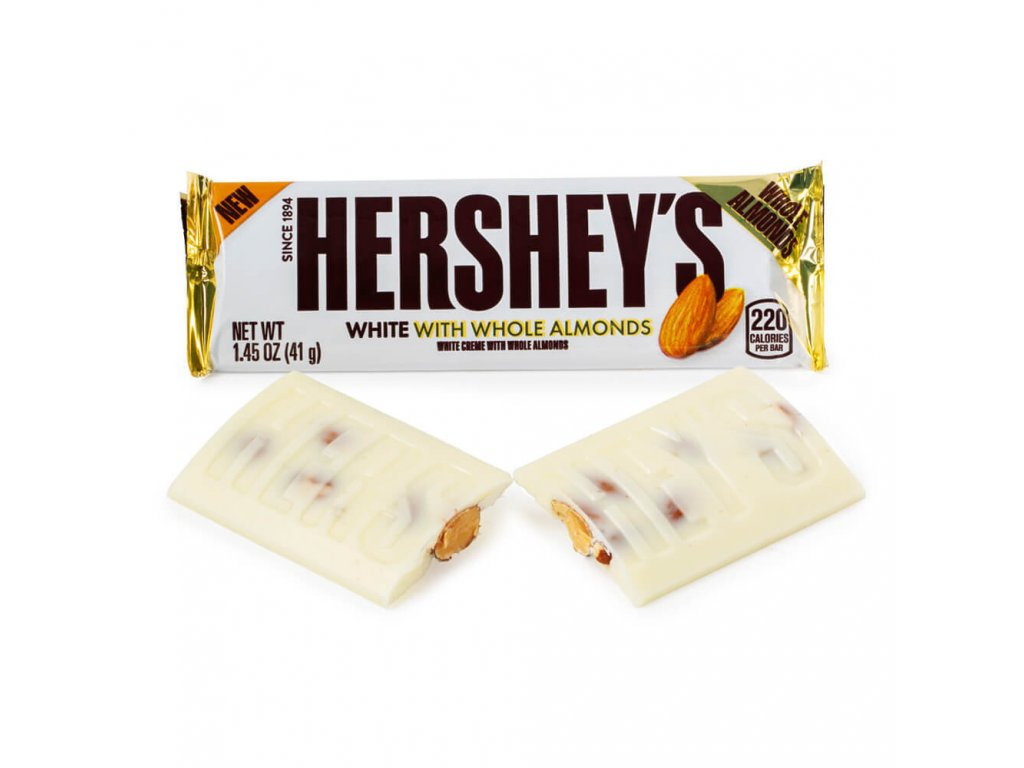 Hershey's White with Whole Almonds 41g