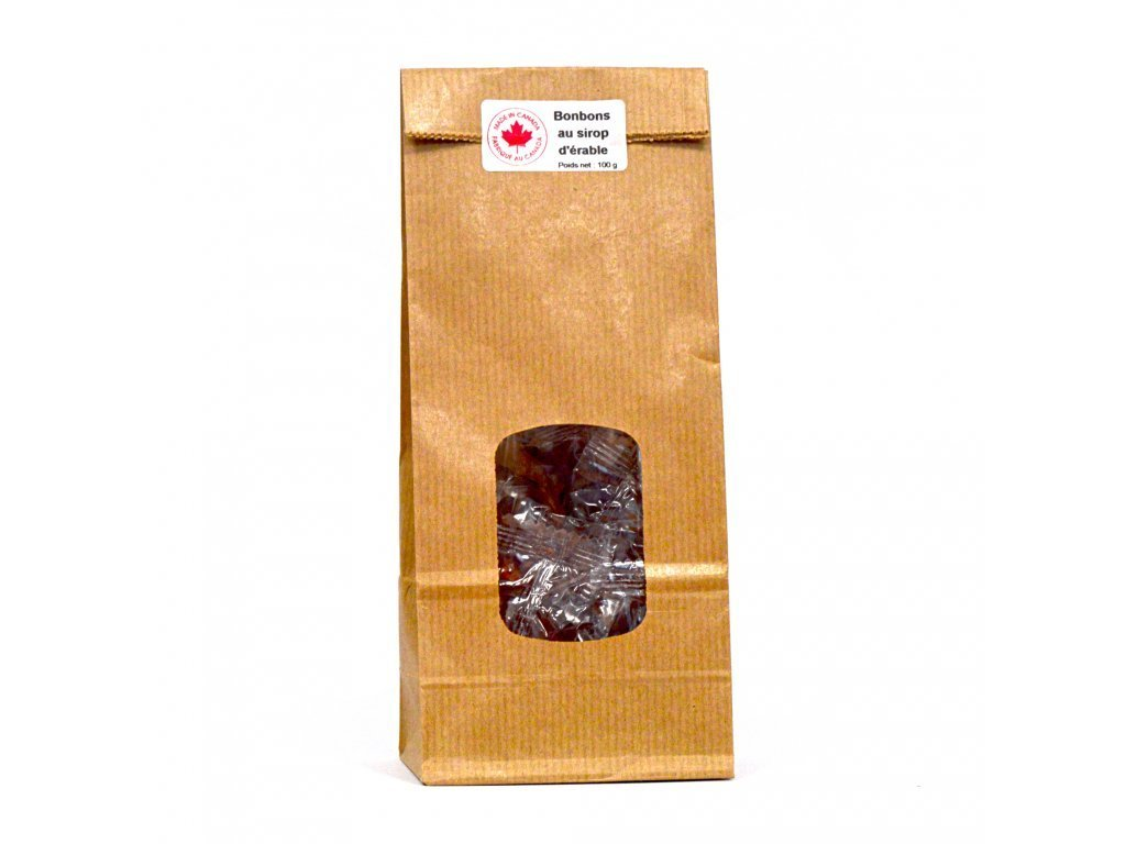 Maple Syrup Hard Candy 100g