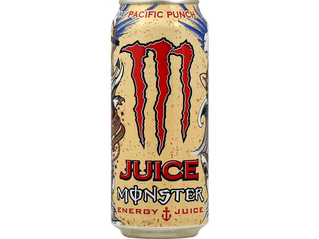 Monster Pacific Punch USA 473ml