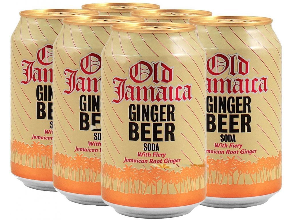 Old Jamaica Ginger Beer Soda karton 6x 330ml