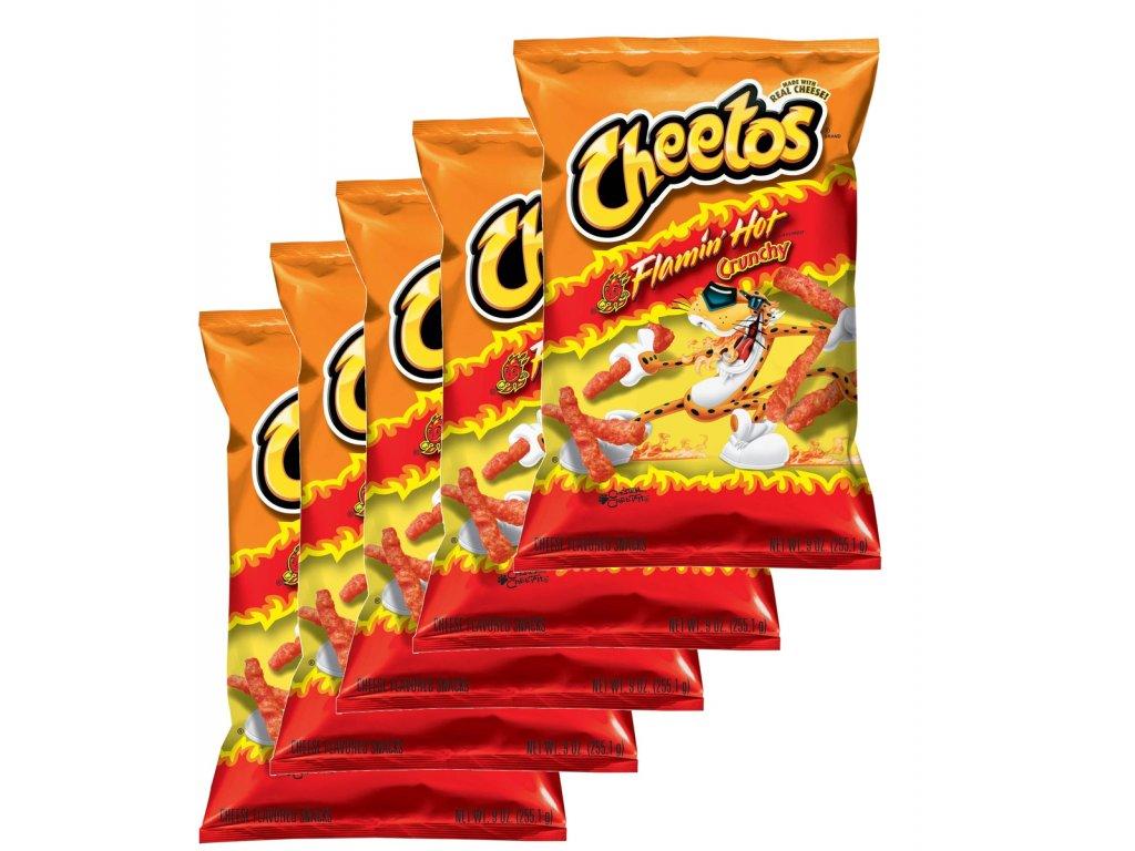 Cheetos Crunchy Flamin Hot Party Pack 5x 226,8g