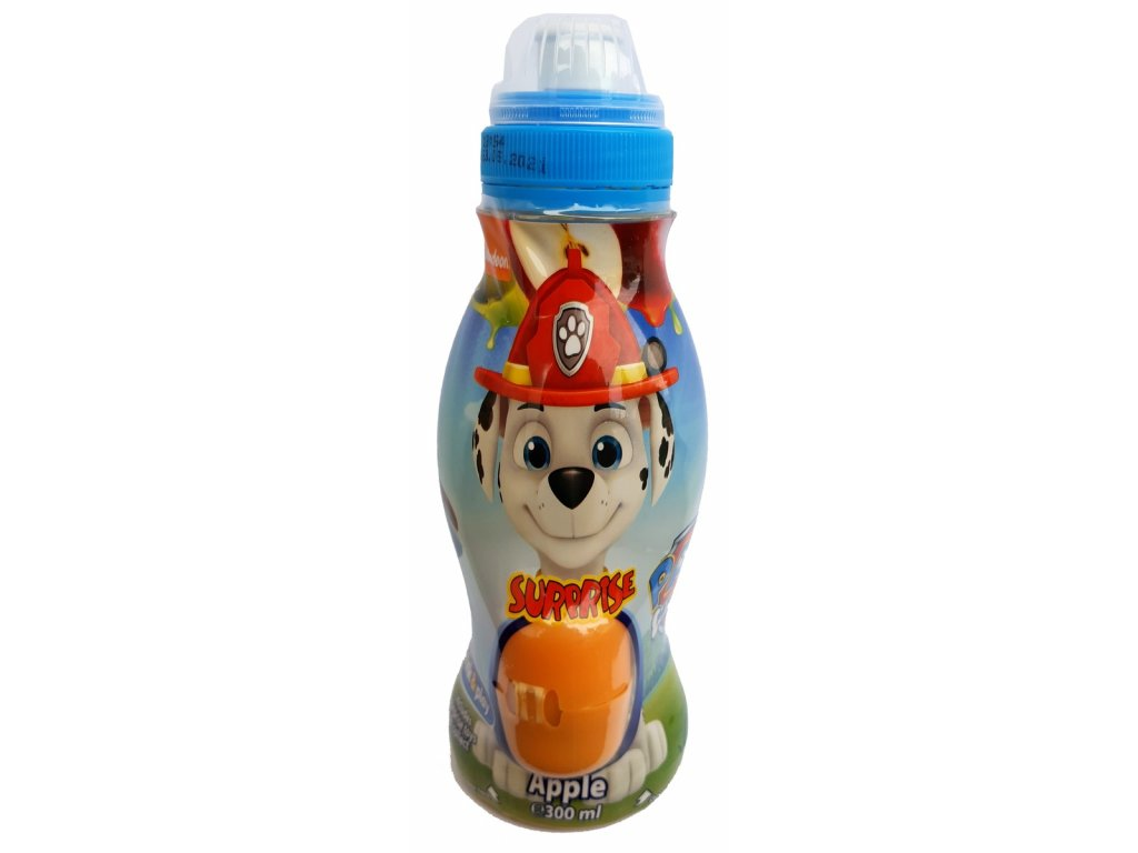 Drink & Play - Tlapková patrola 300ml Apple