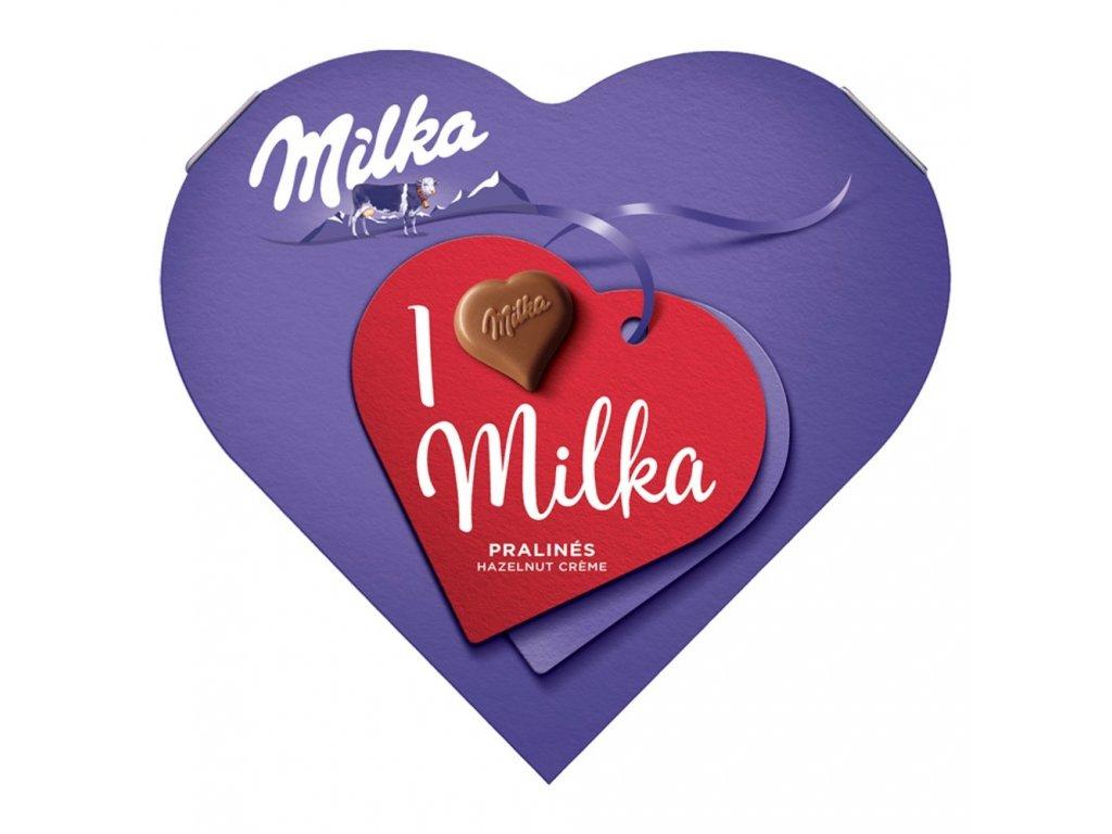 Milka srdce
