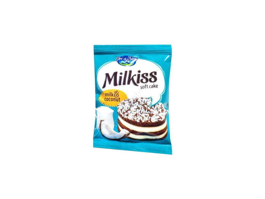 Milkiss Soft Cake Milk & Coconut 50g