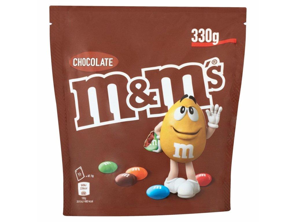 M&M 330g chocolate 02