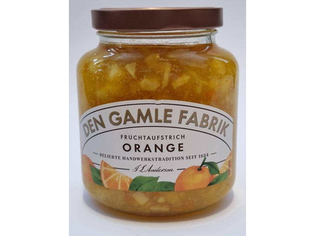 Den Gamble Fabrik - Orange Fruchtaufstrich 380g - pomerančová marmeláda