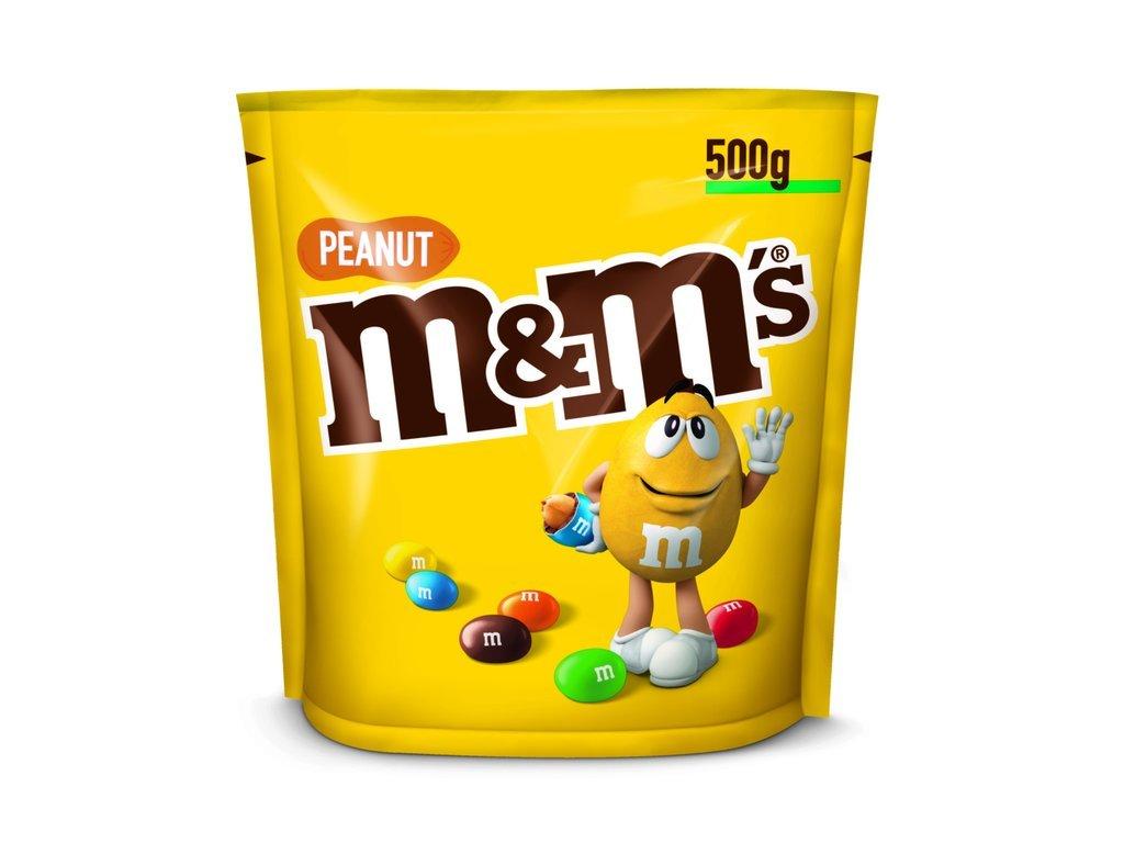 M&m peanut arašídové 500g 01