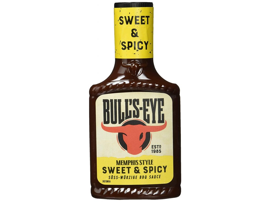 Bull's Eye Sweet & Spicy BBQ Sauce 300ml 01