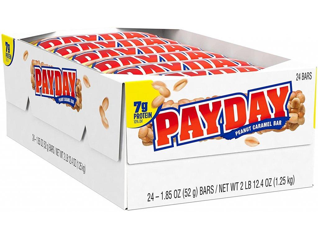 payday peanut caramel bar 52g 04case