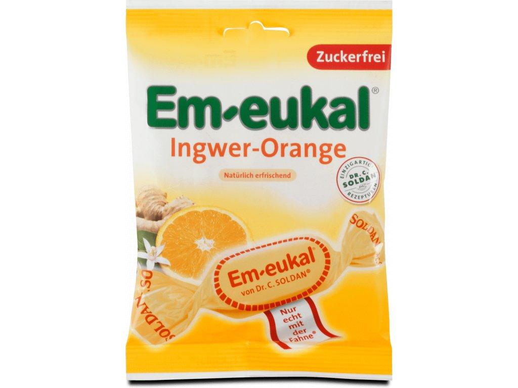 Em eukal Ingwer Orange zuckerfrei 75g 08