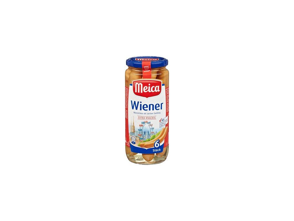 Meica 6 Wiener Würstchen im Saitling 250g 03