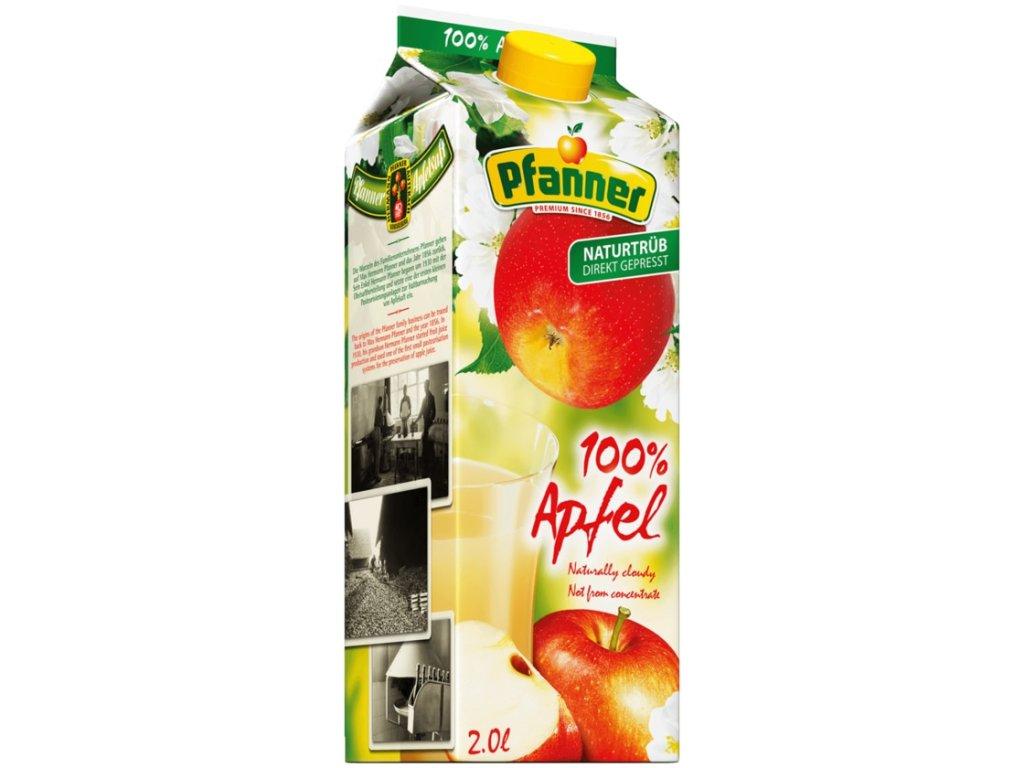 Pfanner Apfelsaft 100% 2000ml 01