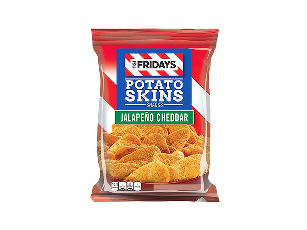 TGI Fridays Potato Skins Jalapeňo Cheddar 113.4 g