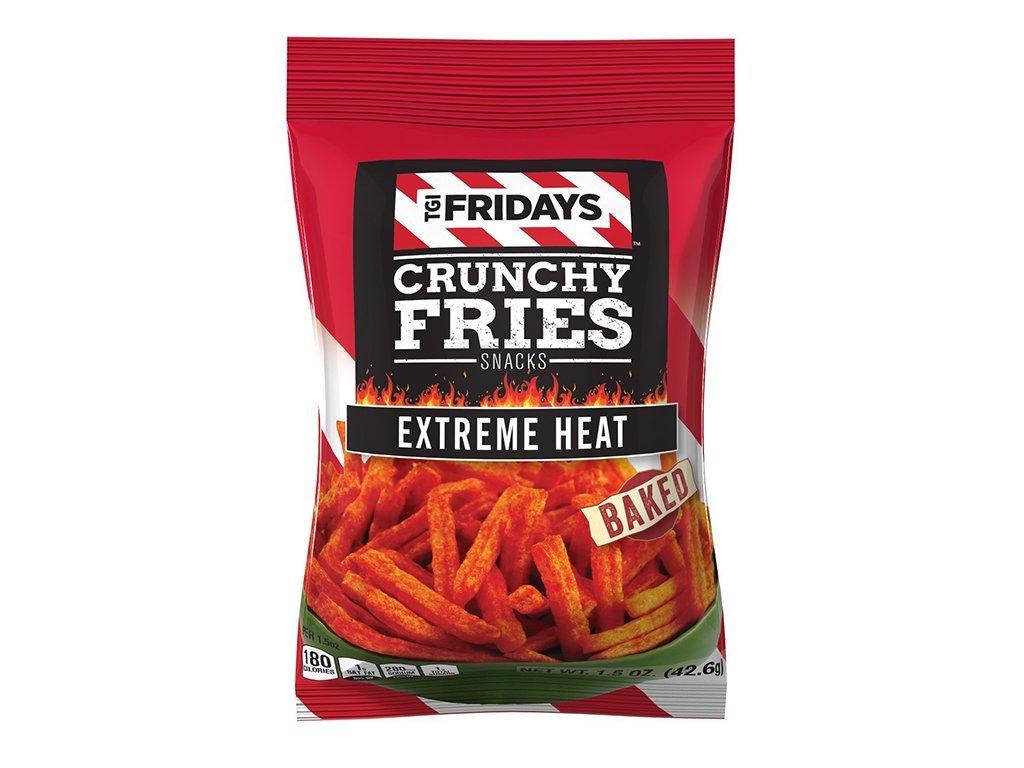 TGI Fridays Crunchy Fries Extreme Heat 127.6 g
