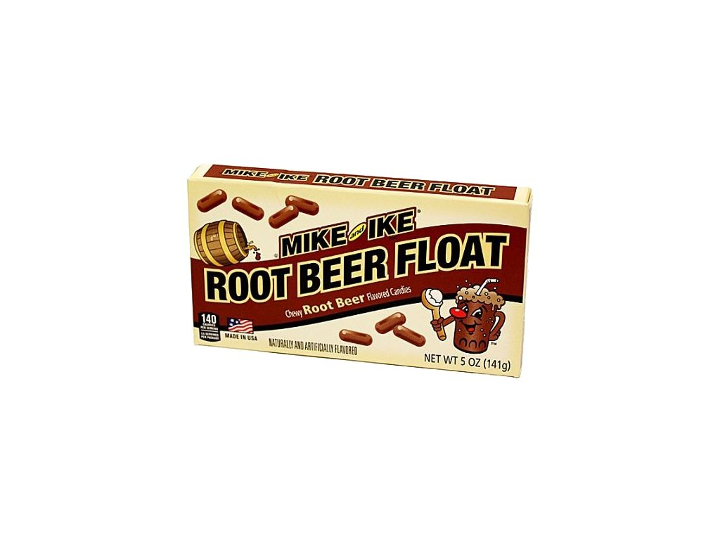 Mike & Ike Root Beer Float Theatre Box 141g - AKCE