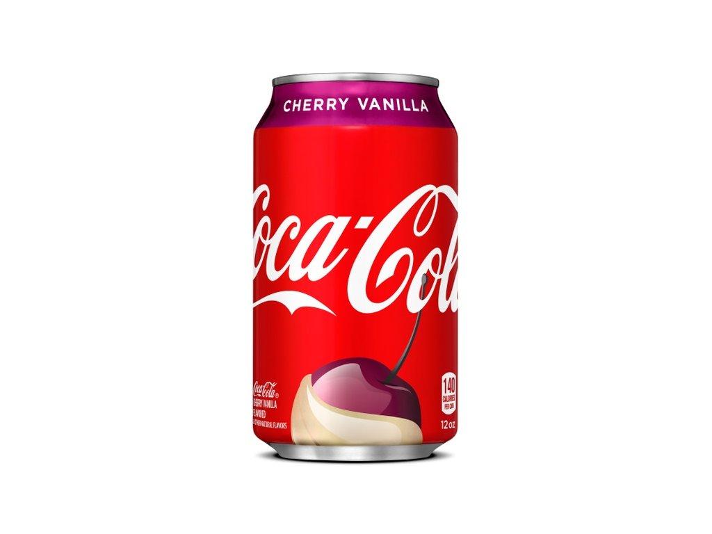 Coca Cola Cherry Vanilla 355ml USA 01