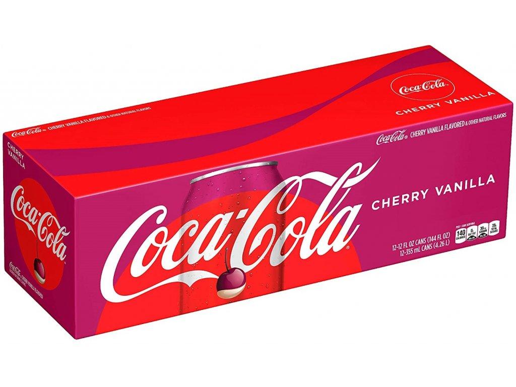 Coca Cola Cherry Vanilla karton 12x 355ml USA 02