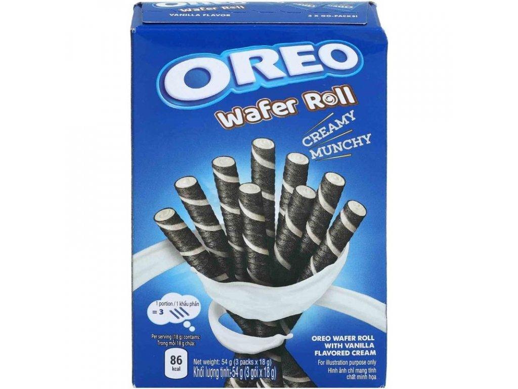 Oreo Vanilla Wafer Roll 54g 2