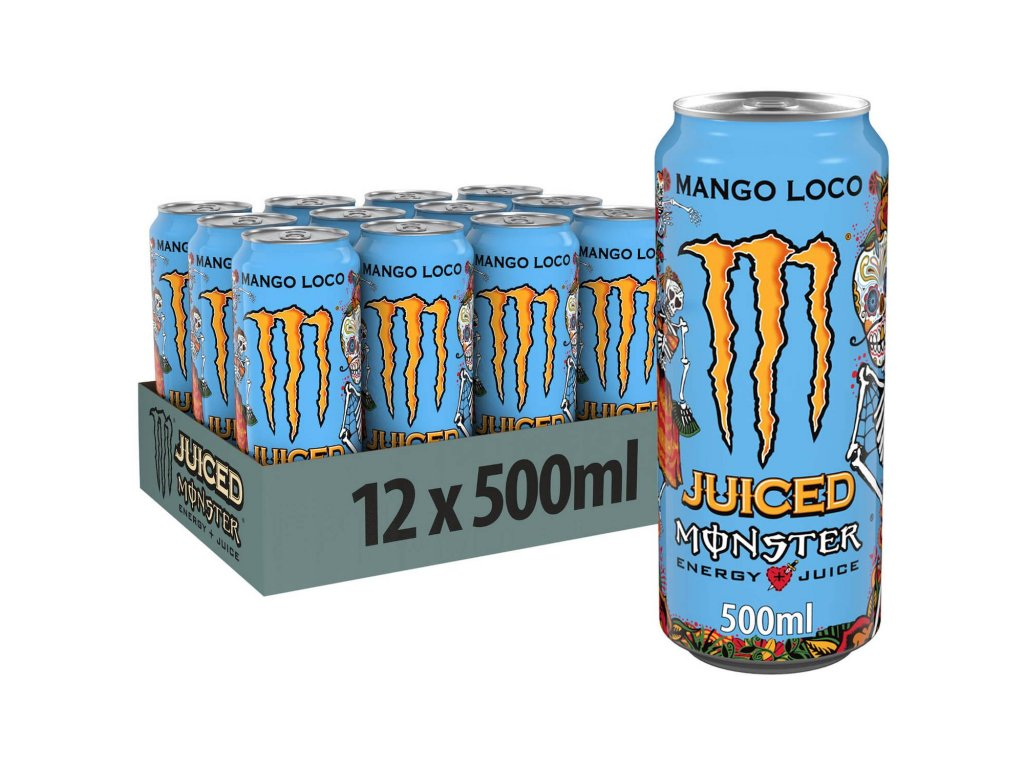 Monster Juice Mango Loco 12x 500ml