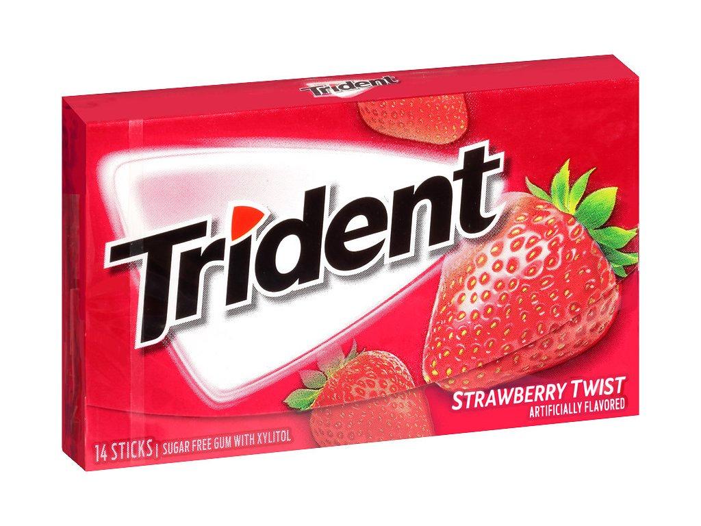 Trident Strawberry Twist gum 27g 01