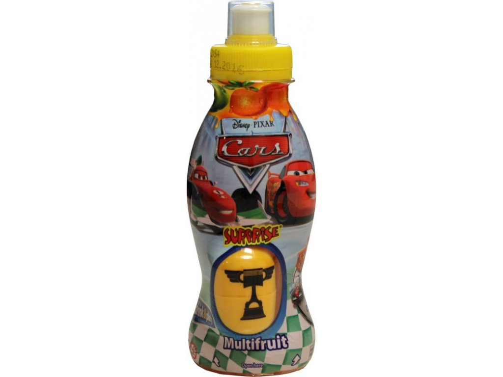 Drink&Play - Cars Multifruit 300ml