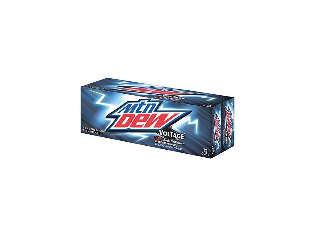 Mountain Dew Voltage USA karton 12x 355ml