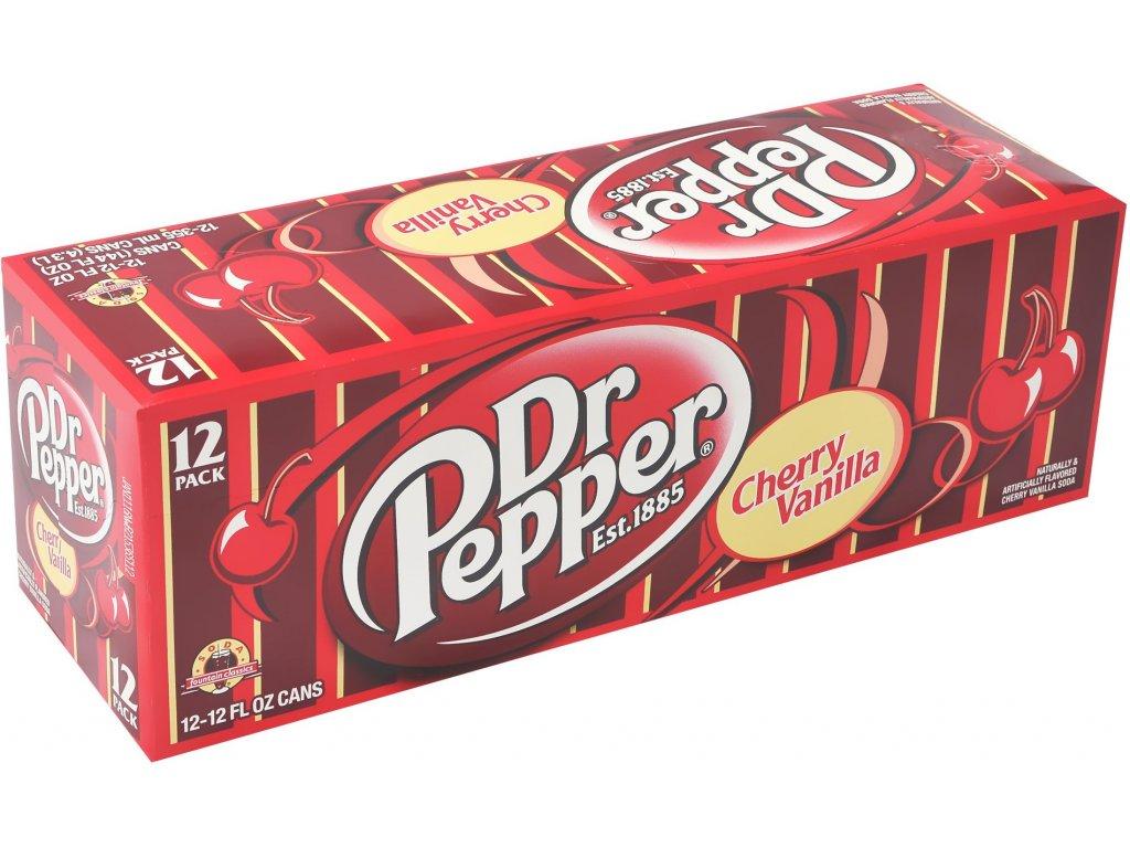 Dr. Pepper Cherry Vanilla USA karton 12x 355ml