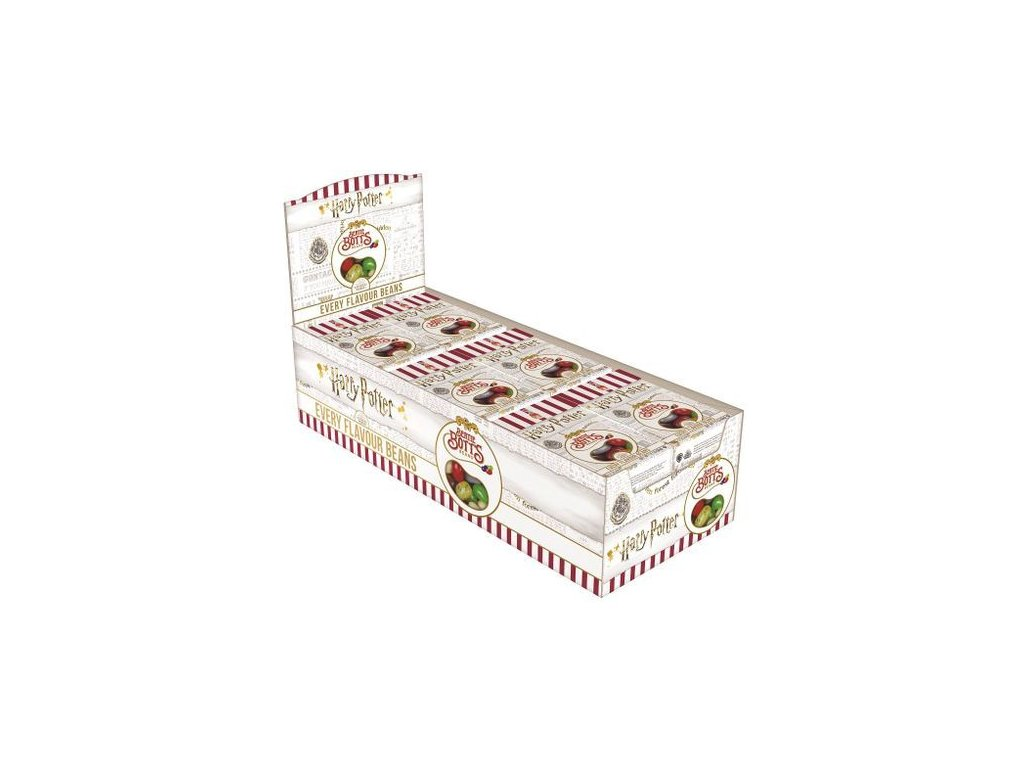 Jelly Belly Harry Potter Bertie Botts Every Flavour Jelly Beans karton 24x 35g