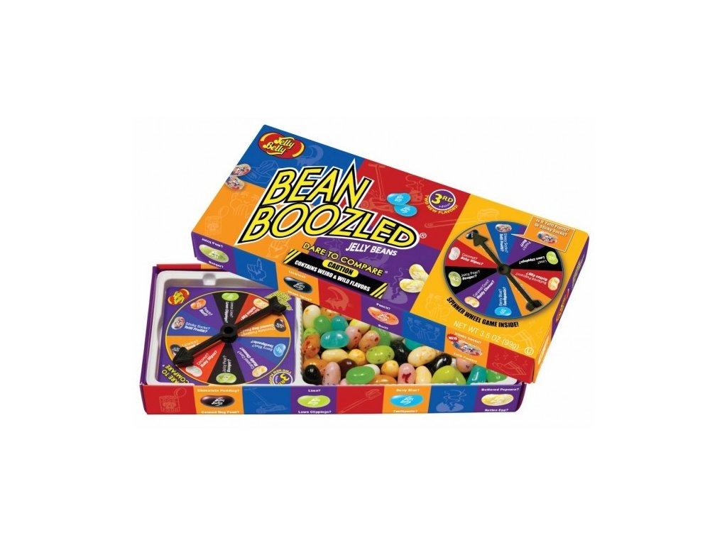 Jelly Belly Bean Boozled Spinner Game - ruletka karton 12x 100g