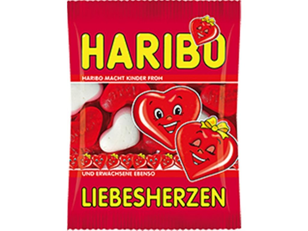 Haribo Love Hearts 100g